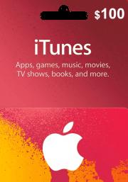 iTunes JAV 100 USD Dovanų Kortelė