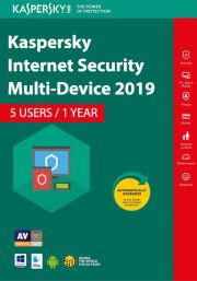 Kaspersky Internet Security Multi-Device 2019 (5 Users , 1 Year)