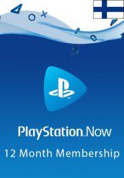 PlayStation Now 12 Mėnesių Prenumerata (Suomija)