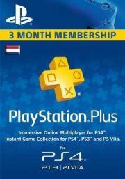 PSN Plus 3 Mėnesių Prenumerata (Nyderlandai)