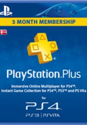 PSN Plus 3 Mėnesių Prenumerata (Danija)