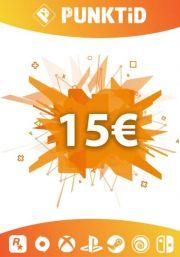 Punktid 15€ Dovanų Kortelė