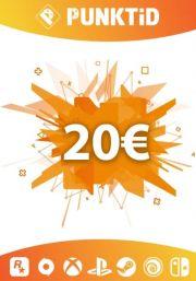 Punktid 20€ Dovanų Kortelė