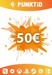 Punktid 50€ Dovanų Kortelė