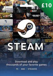 JK Steam 10 GBP Dovanų Kortelė