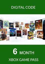 Xbox Game Pass 6 Mėnesių Prenumerata